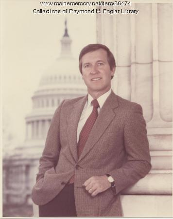 William S. Cohen in Washinton D.C., ca. 1980