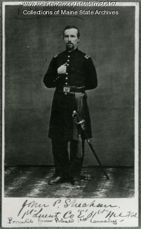 Lt. John P. Sheahan, 31st Maine, ca. 1864