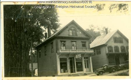 29-31 Main Street, Bridgton, ca. 1938