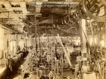 Machine shop, Portland Company, ca. 1890