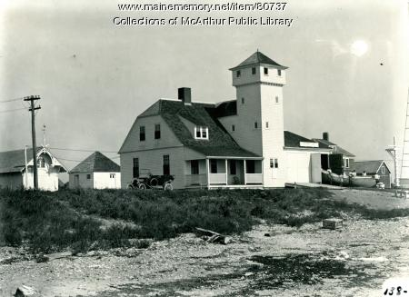 Life Saving Station, Biddeford Pool, ca. 1917