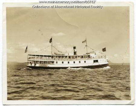 Katahdin II Excursion on Moosehead Lake, ca. 1920