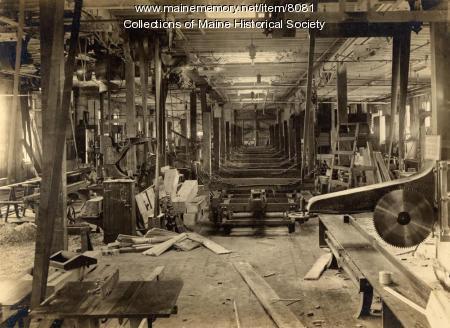 Erecting shop, Portland Company, ca. 1890