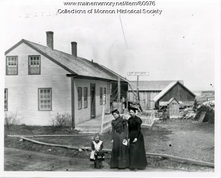 William Sentner Home, Monson, ca. 1900