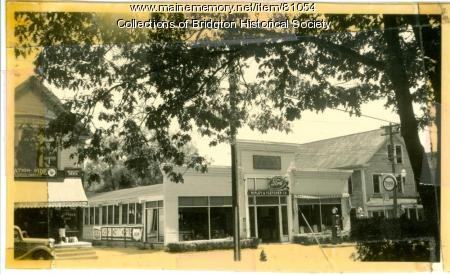 Ripley & Fletcher Auto Dealer, Main Street, Bridgton
