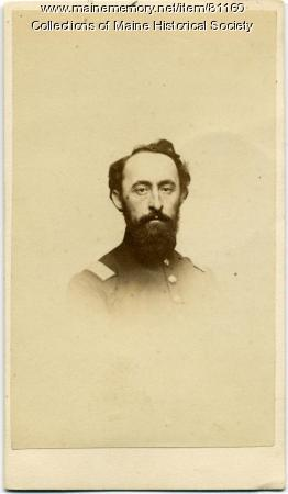 Capt. Samuel T. Keene, 20th Maine, ca. 1863