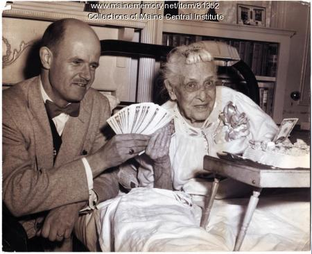 Mary Weymouth Dodge and Edward Stanley, 1953
