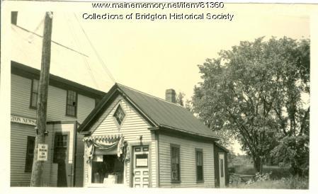 46 Main Street, Bridgton, ca. 1938