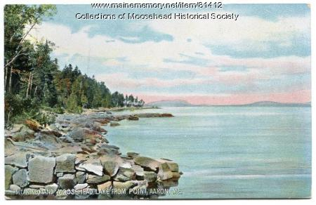 Moosehead Lake & Mount Kineo, ca. 1910