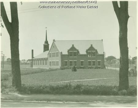 Portland Water District Douglass Street Facility, Portland, ca. 1928