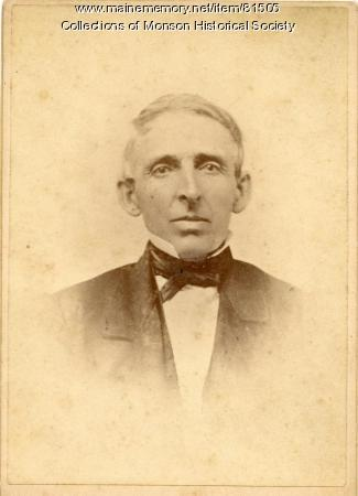 Rev. Dudley P. Bailey, Monson, ca. 1870