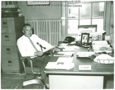 Portland Water District Casco Street Office, Portland, 1964