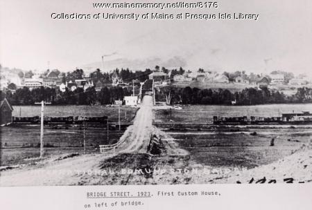 Madawaska to Edmondston bridge, 1923
