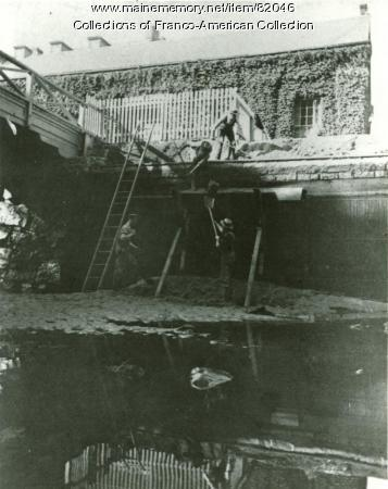 Canal Excavation, Lewiston, ca. 1845