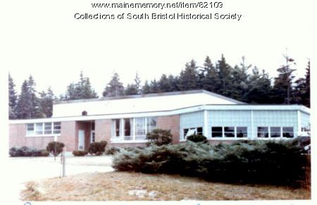 South Bristol School, as built in 1962, ca. 1977