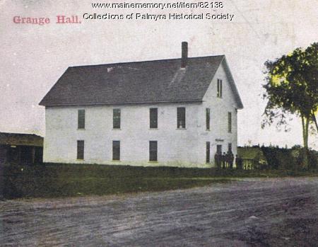 Palmyra Grange Hall, Palmyra, ca. 1900