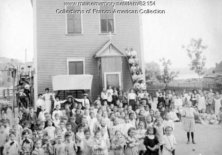 Little Canada School, Lewiston, ca.1900