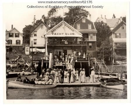Boothbay Harbor Yacht Club, 1910