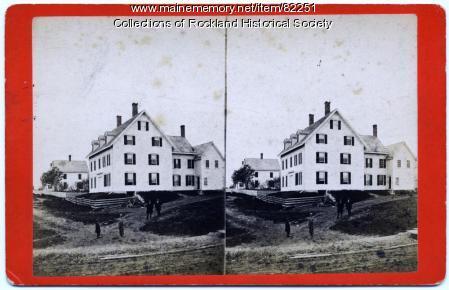 Atlantic House, Rockland, ca. 1875