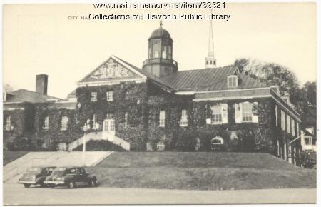 City Hall, Ellsworth, ca. 1940