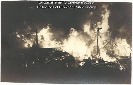 Fire, Ellsworth, 1933