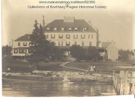 Menawarmet Hotel, Boothbay Harbor, ca. 1900