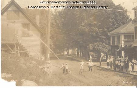 Junior Hose Company No. 3 of West Boothbay Harbor, ca. 1915