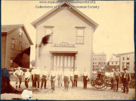 The Berwick Fire Station, ca. 1900
