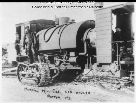 Merrill Mill Company's Second Lombard Loghauler - Larger Size