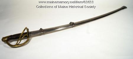 Grenville F. Sparrow sword, ca. 1863