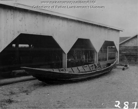 Bateau at Patten Lumbermen's Museum