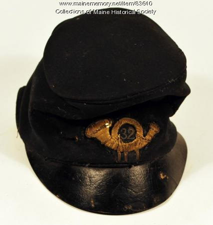 John M. Brown infantry cap, ca. 1864