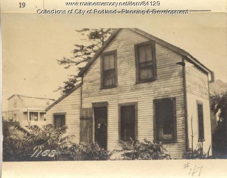 Jefferds property, W. Side Veteran Street, Peaks Island, Portland, 1924