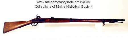 Confederate Lorenz musket, 1862