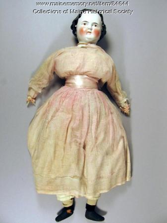 'Eva' doll, Washington, D.C., ca. 1865