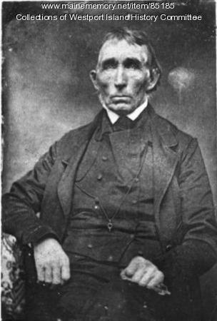 Samuel 'Squire' Tarbox, Westport, ca. 1850