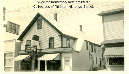 Sportsmans Exchange, 72 Main Street, Bridgton, ca. 1938