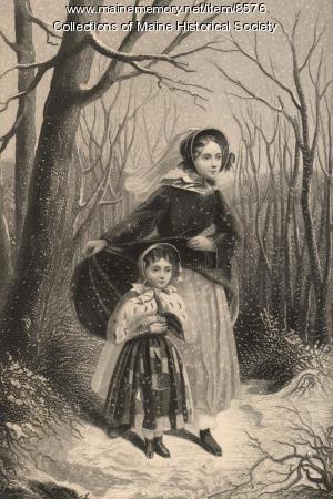 The Snowstorm, ca. 1866