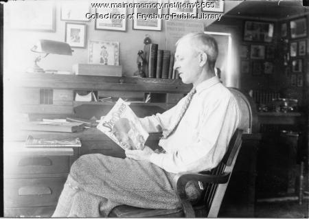 Clarence E. Mulford, ca. 1930