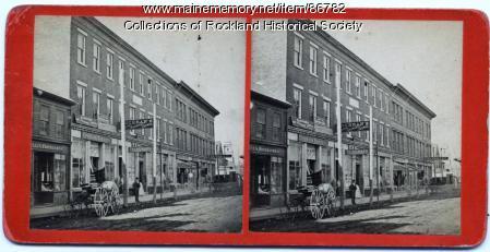 Berry Block, Rockland, ca. 1875
