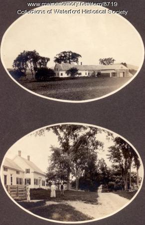 Johnson Home, Waterford, ca. 1910