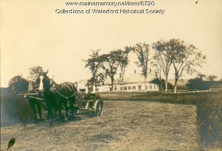 Mowing, Waterford, ca. 1910