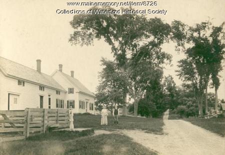 Johnson Farmstead, Waterford, ca. 1910