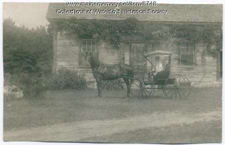 Hamlin Farm, South Waterford, ca. 1900