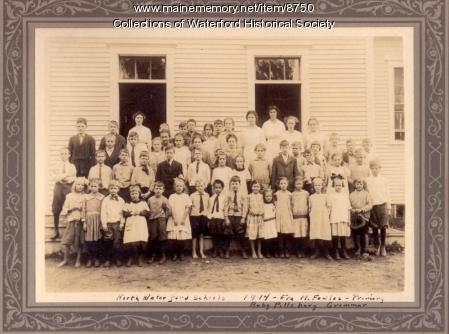 North Waterford School, ca. 1914