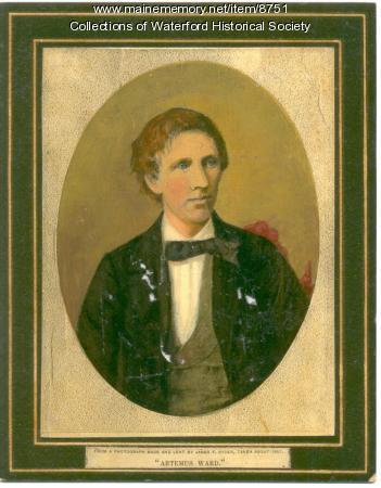Artemus Ward painted portrait
