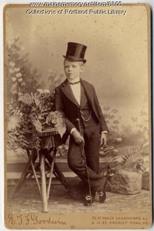 Percival Procter Baxter, 1886