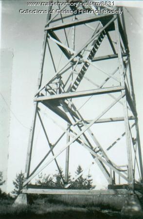 Fire Tower bottom. Garland, ca. 1950