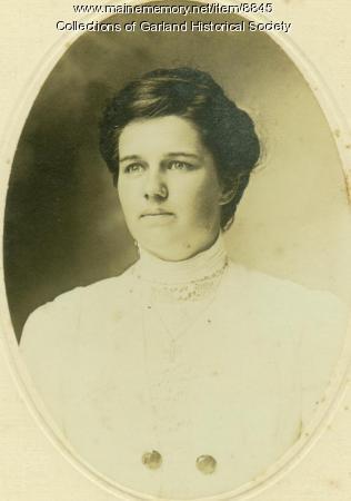 Mildred Brown, Garland, ca. 1920