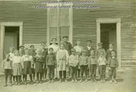 School class, Garland, ca. 1905